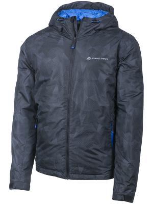 Куртка Alpine PRO. Цвет: антрацитовый, черный