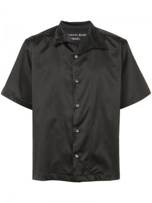 Рубашка с короткими рукавами Enfants Riches Deprimes. Цвет: чёрный