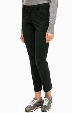 Классические зауженные брюки черного цвета MORE &. Цвет: черный