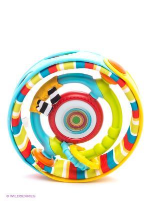 Развивающая игрушка Вращающийся бубен Tiny Love. Цвет: голубой, желтый