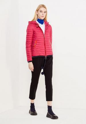 Куртка утепленная Twin-Set Simona Barbieri. Цвет: фуксия