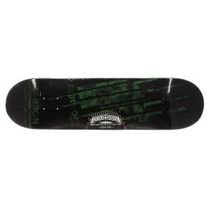 Дека для скейтборда  Carbon Team Edition Camo Green Footwork. Цвет: черный,зеленый