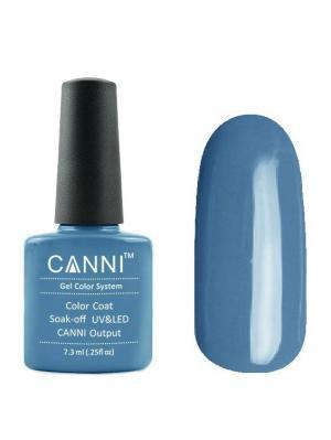 Гель лак №80 CANNI. Цвет: серо-голубой