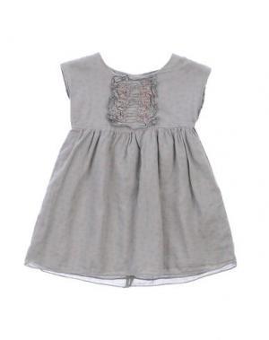 Платье MON AMOUR. Цвет: серый