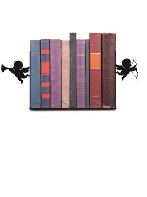 Декоративная подставка-ограничитель для книг Купидоны Magic Home. Цвет: черный