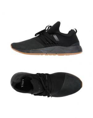 Низкие кеды и кроссовки ARKK COPENHAGEN. Цвет: черный