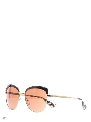 Очки солнцезащитные PRADA. Цвет: золотистый