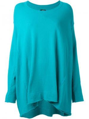 Платье-свитер Keep It Unreal Bernhard Willhelm. Цвет: синий