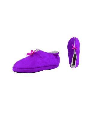 Тапочки De Fonseca. Цвет: фиолетовый, фуксия