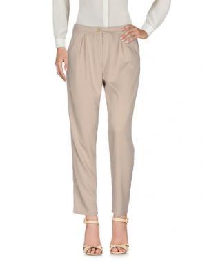 Повседневные брюки UFFICIO 87. Цвет: песочный