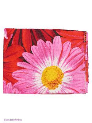 Полотенце на резинке Метиз. Цвет: красный
