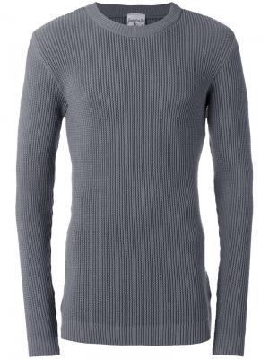 Джемпер с круглым вырезом Carbon S.N.S. Herning. Цвет: серый