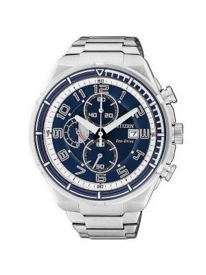 Часы CA0491-50L CITIZEN. Цвет: синий, серебристый