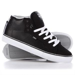 Кеды кроссовки высокие  Cero Ht Black/High Rise Circa. Цвет: черный