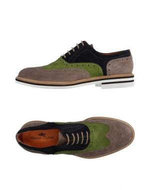 Обувь на шнурках DOMENICO TAGLIENTE. Цвет: голубиный серый