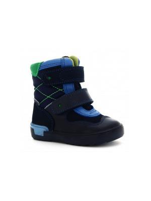 Ботинки Bartek. Цвет: синий,зеленый