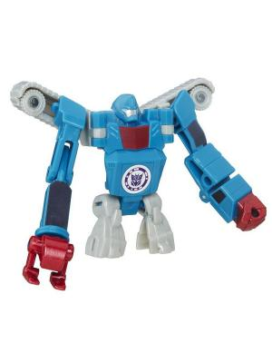 Трансформеры: роботы под прикрытием: Легион Hasbro. Цвет: бирюзовый, серебристый, прозрачный, красный