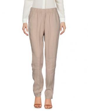 Повседневные брюки ROSSO35. Цвет: бежевый
