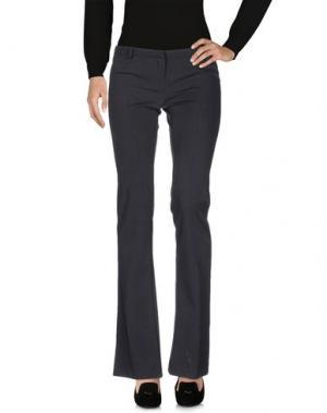 Повседневные брюки CELYN B.. Цвет: стальной серый