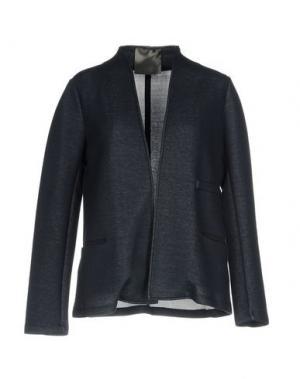 Пиджак ES'GIVIEN. Цвет: темно-синий