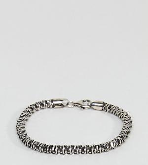 Seven London Серебряный браслет-цепочка. Цвет: серебряный