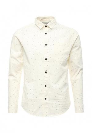 Рубашка Only & Sons. Цвет: бежевый