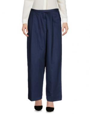 Повседневные брюки POMANDÈRE. Цвет: синий