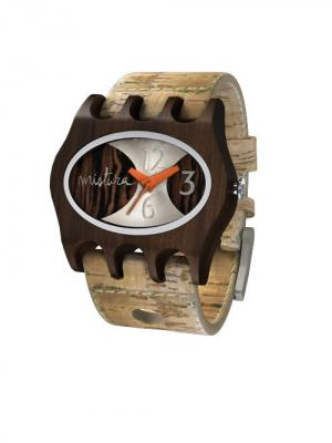Часы Mistura KAMERA Cork/Pui/Ebony. Цвет: бежевый