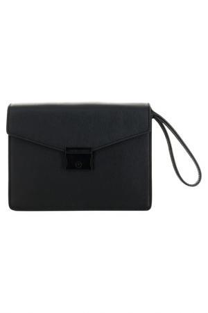 Портфель Emporio Armani. Цвет: черный