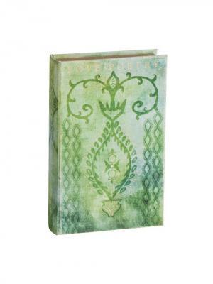 Декоративная книга-шкатулка Willow Tree (Любовь к поэзии, 26х16,5х5). Цвет: голубой, серый