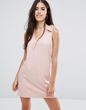 Pixie & Diamond Платье мини. Цвет: розовый