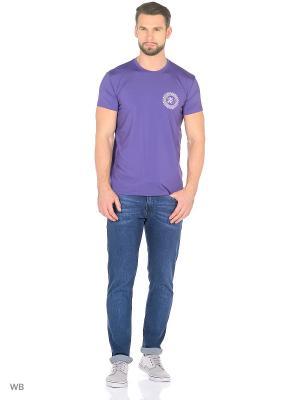 Футболка DODOGOOD. Цвет: фиолетовый