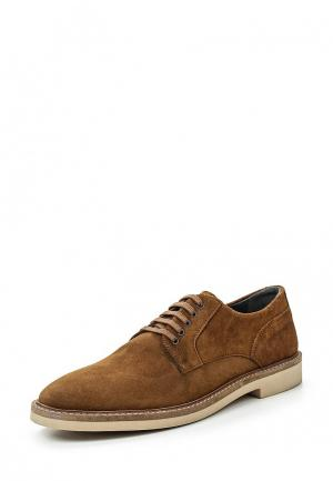 Туфли Frank Wright. Цвет: коричневый