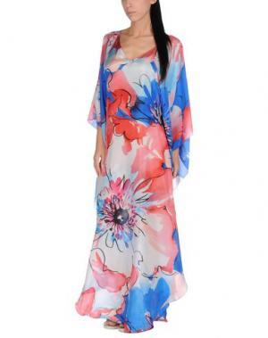 Пляжное платье FISICO. Цвет: ярко-синий