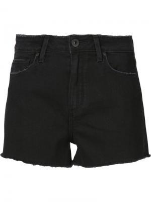Джинсовые шорты Margot Paige. Цвет: чёрный