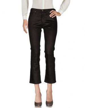Повседневные брюки AG ADRIANO GOLDSCHMIED. Цвет: темно-коричневый