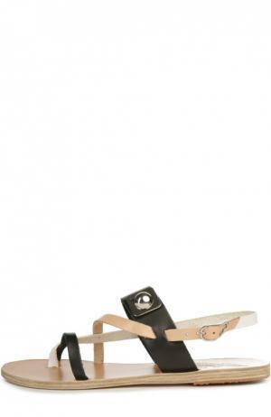 Кожаные сандалии Alethea Ancient Greek Sandals. Цвет: бежевый