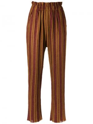 Striped knit trousers Gig. Цвет: none