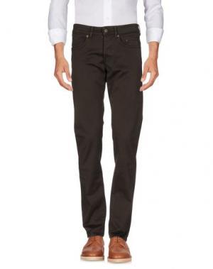 Повседневные брюки SIVIGLIA. Цвет: темно-коричневый
