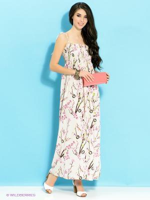 Платье Ada Gatti. Цвет: кремовый