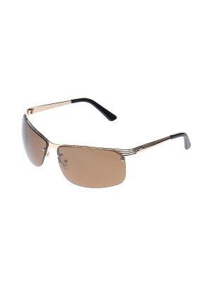 Очки солнцезащитные Infiniti. Цвет: золотистый, черный, коричневый