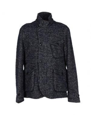 Пальто BARACUTA. Цвет: темно-синий