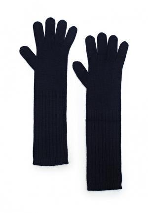 Перчатки Max&Co. Цвет: синий