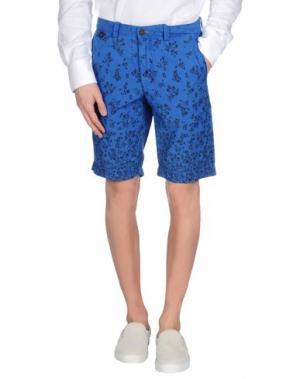 Бермуды GANESH. Цвет: синий