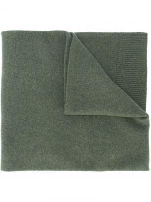 Шарф No.7 Extreme Cashmere. Цвет: зелёный