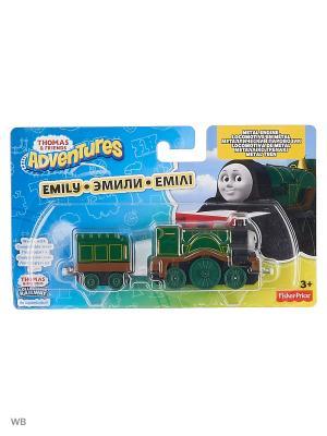 Большие паровозики в ассортименте THOMAS & FRIENDS. Цвет: темно-зеленый
