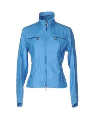 Куртка GEOSPIRIT. Цвет: лазурный