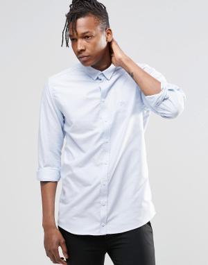ADPT Рубашка с длинными рукавами Beck. Цвет: синий