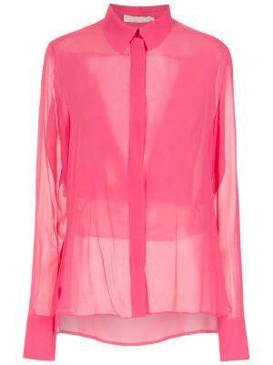 Silk shirt Giuliana Romanno. Цвет: розовый и фиолетовый