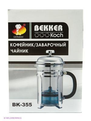 Чайник заварочный Bekker. Цвет: белый